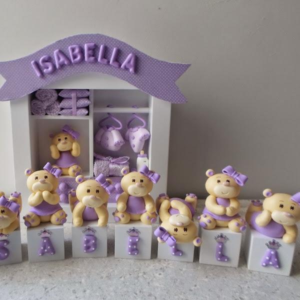 Quadro de Maternidade de Ursinhas