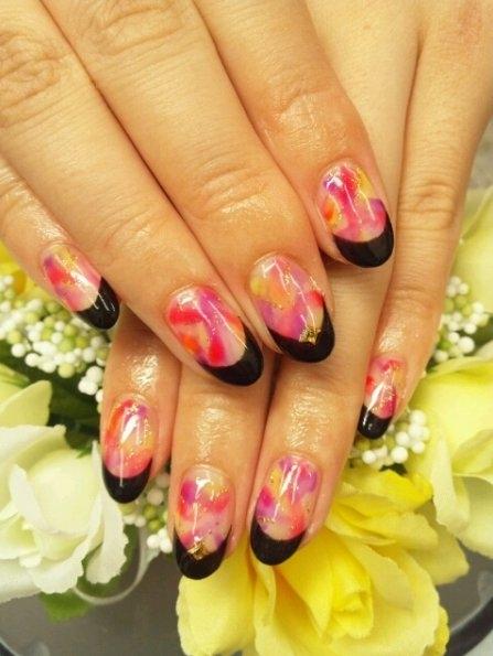 nails nail Unha Decorada Idéias para férias 2013