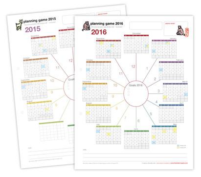 Planning Game 2015 - 2016 by Yukié Matsushita