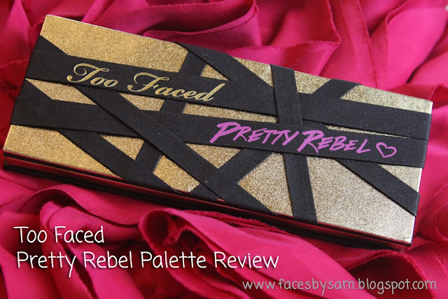 Too Faced Pretty Rebel Eyeshadow Palette for Fall Review