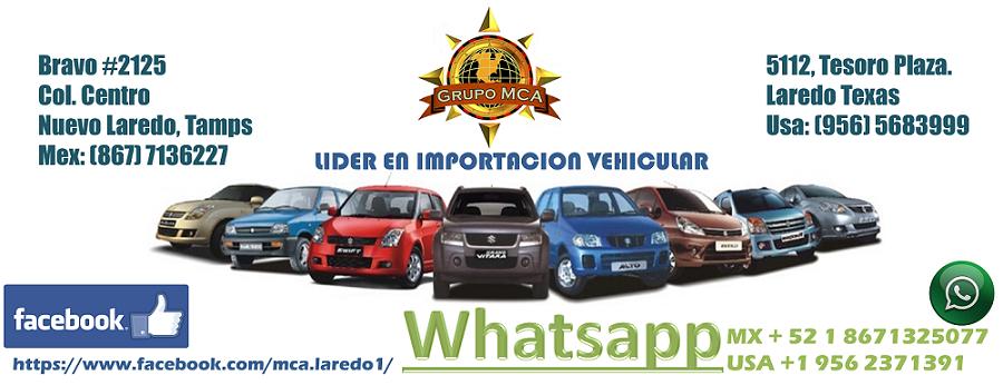 Importaciones MCA Agencia Aduanal Lider en Importacion de Vehiculos