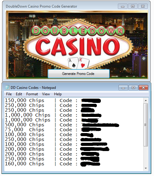 double down casino codes 1 million