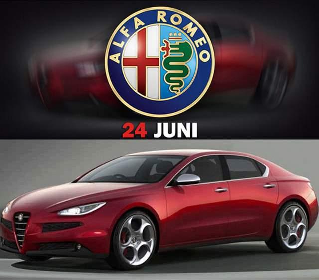 Alfa Romeo Giulia - projeção