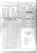 1932 - LE NUOVE CARICHE DEL P.N.F. DI BERGAMO