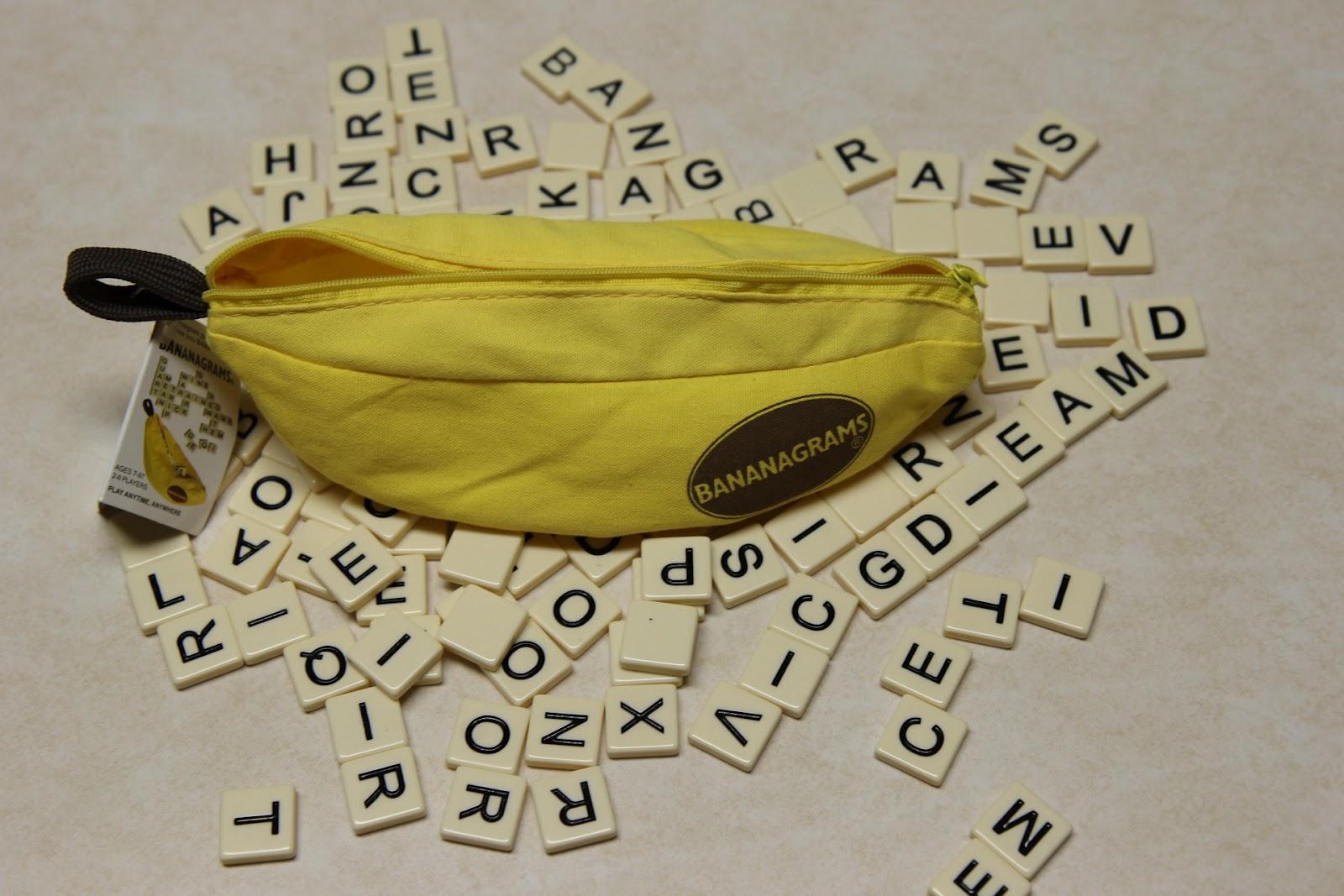 Distribution Of Letter Tiles In Bananagrams