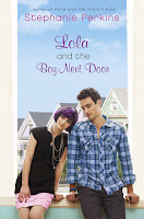 Lola and the Boy Next Door Stephanie Perkins book cover