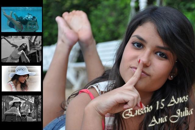 Ensaio 15 Anos - Ana Julia