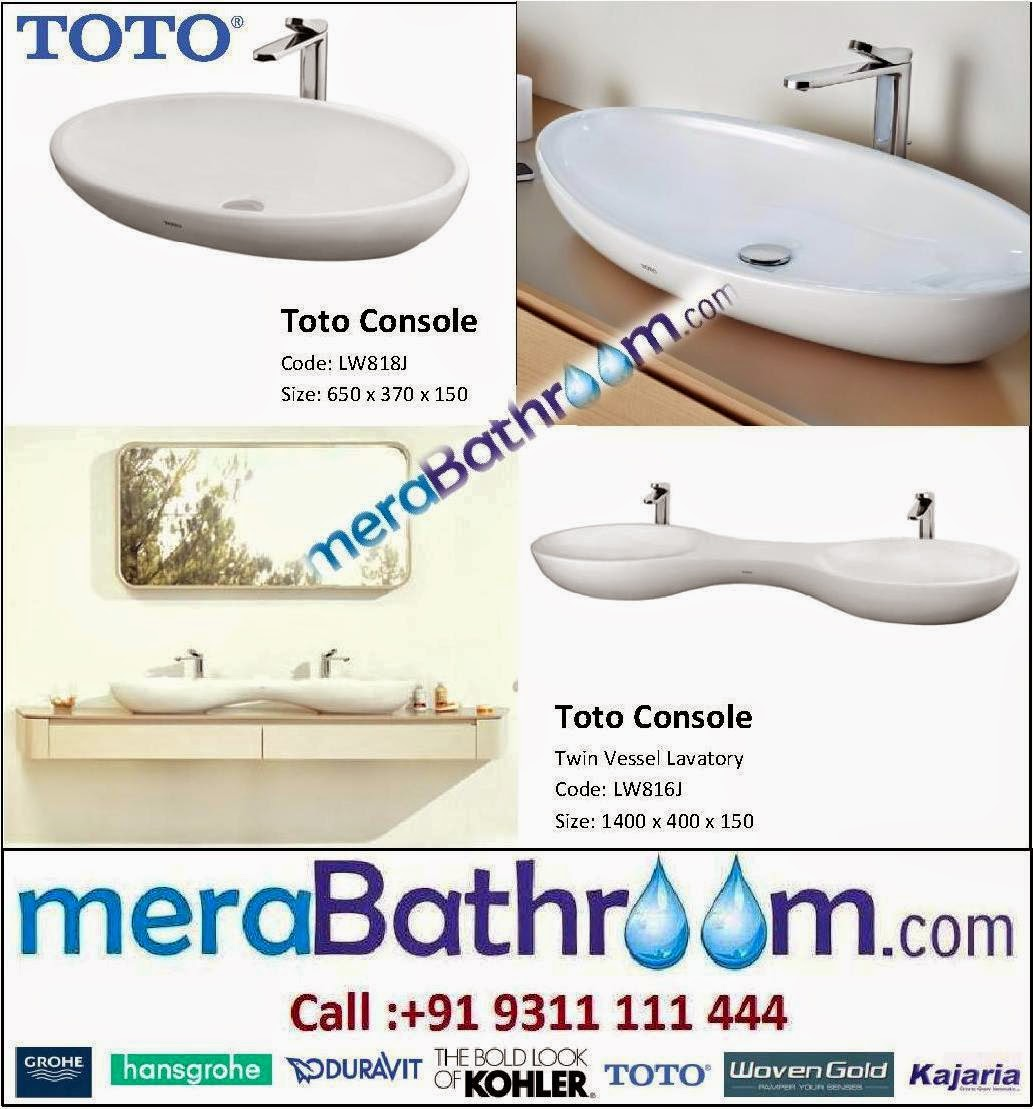 Toto Countertop Lavatory GROHE Bath Fitting