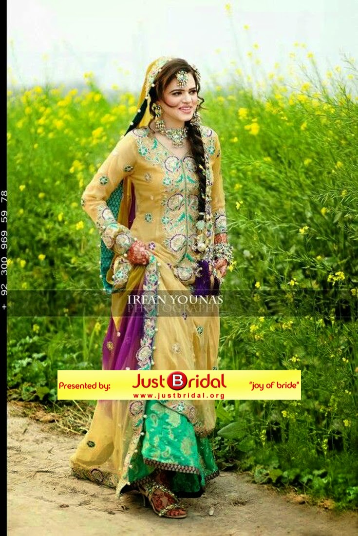 Pakistani dulhan shadi dress is collection of desi wedding dress for ...