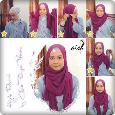 Covering the Aurah: Hijab Tutorial: Pashmina Chiffon inspired by Hijab ...