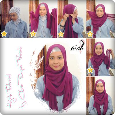 Tutorial Hijab Pashmina Style