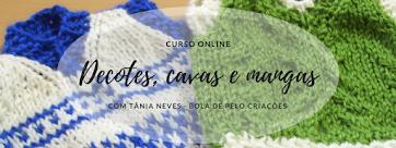 Curso online decotes, cavas e mangas - Inscrições abertas