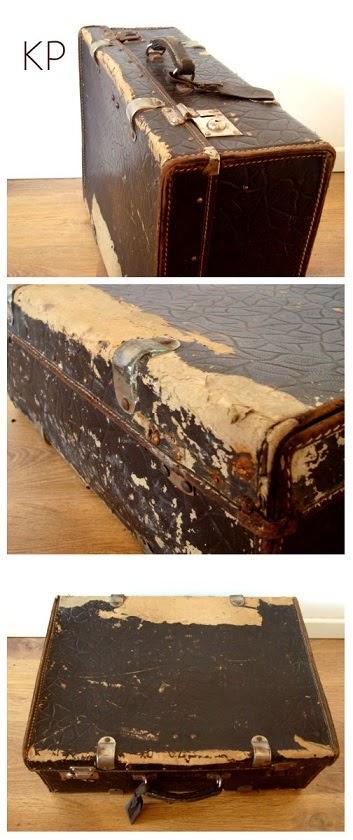 Quiero comprar una maleta antigua para decoración