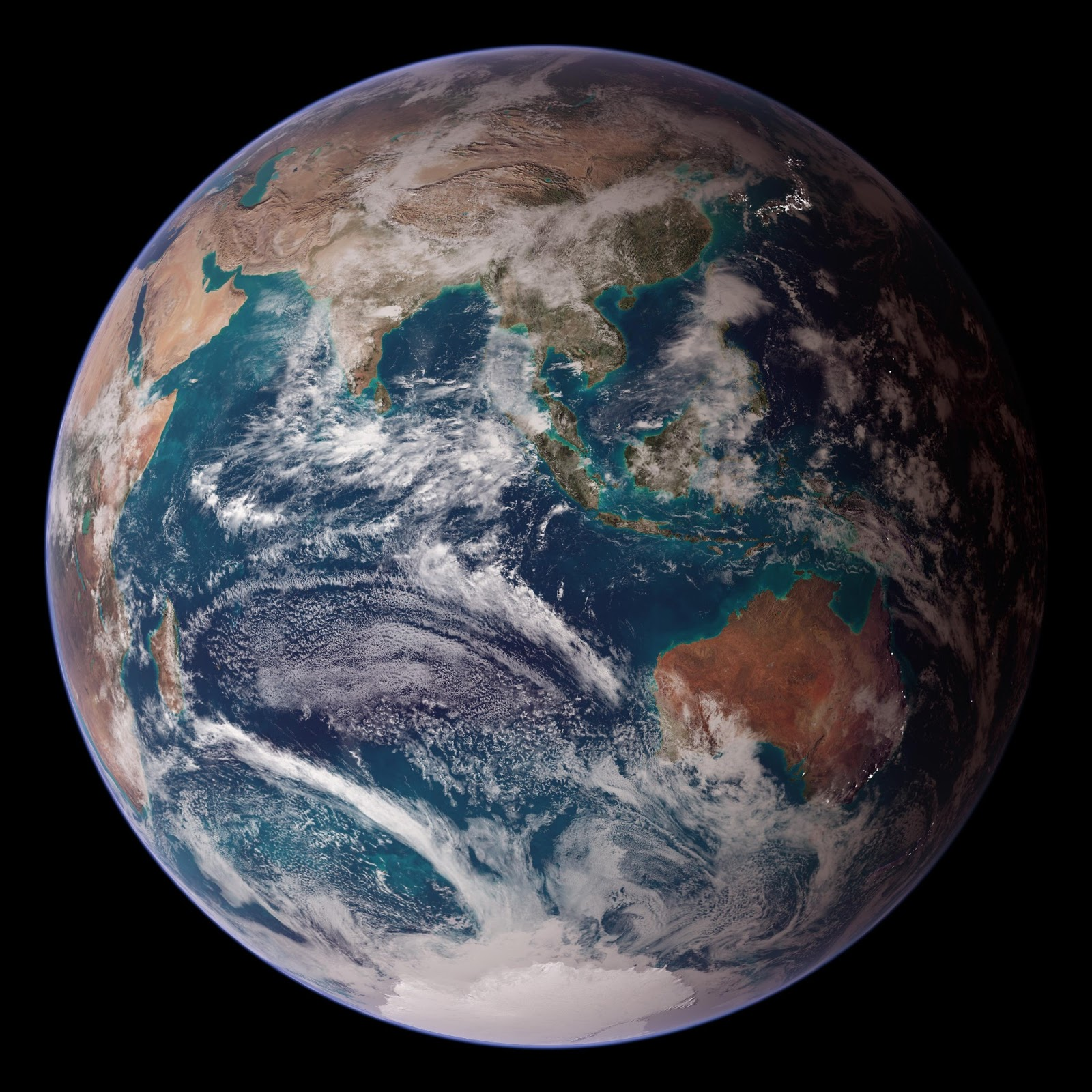 The Reel Foto Earth From Space Nasa 39 S Blue Marble East