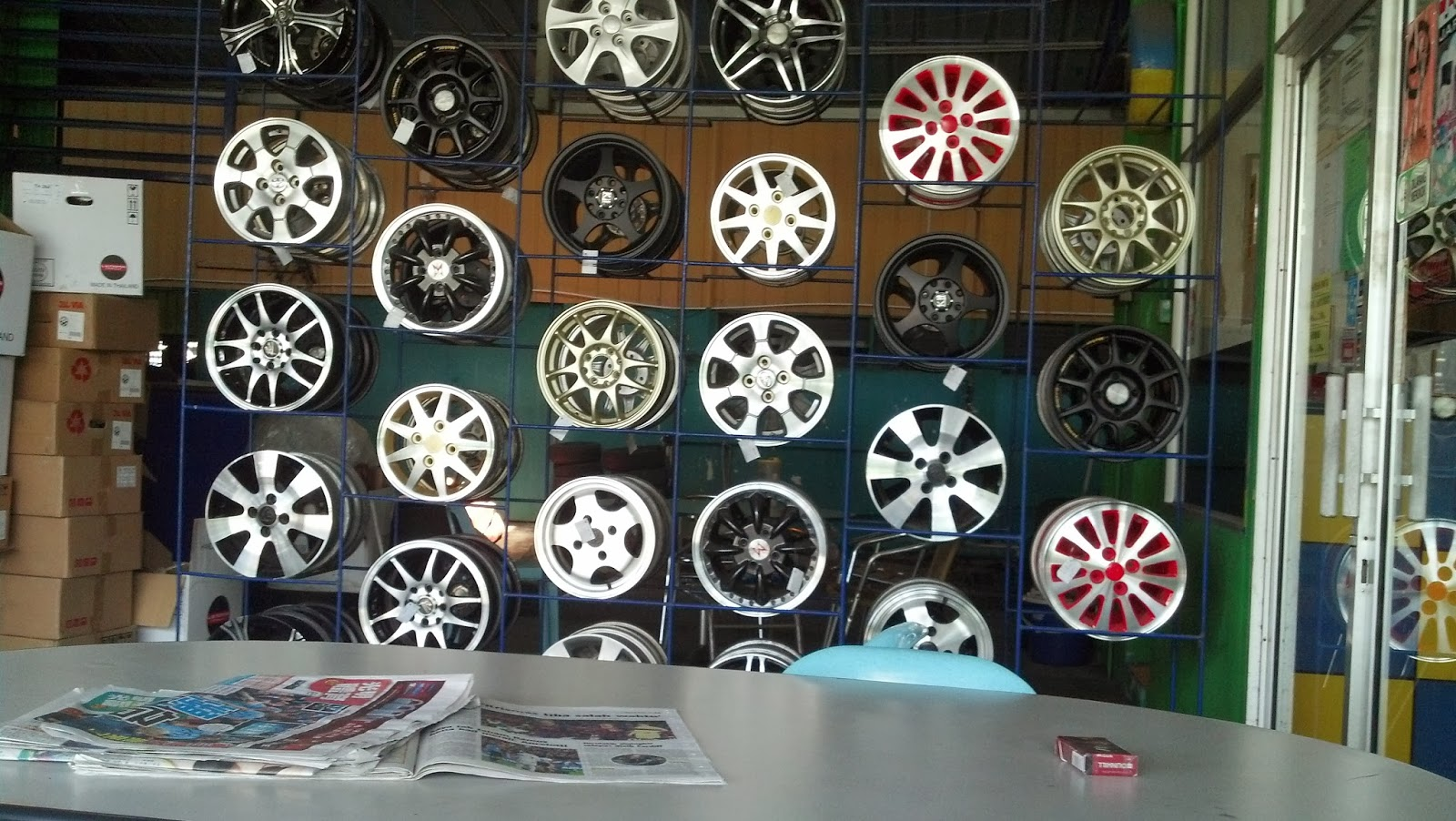 sport rim murah,harga alignment,alignment tayar kereta,tayar dan alignment