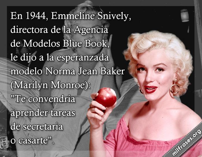 historias de motivaciones y superación personal, vida e historia de Marilyn Monroe actriz, modelo y cantante estadounidense, fracasos de famosos de la historia