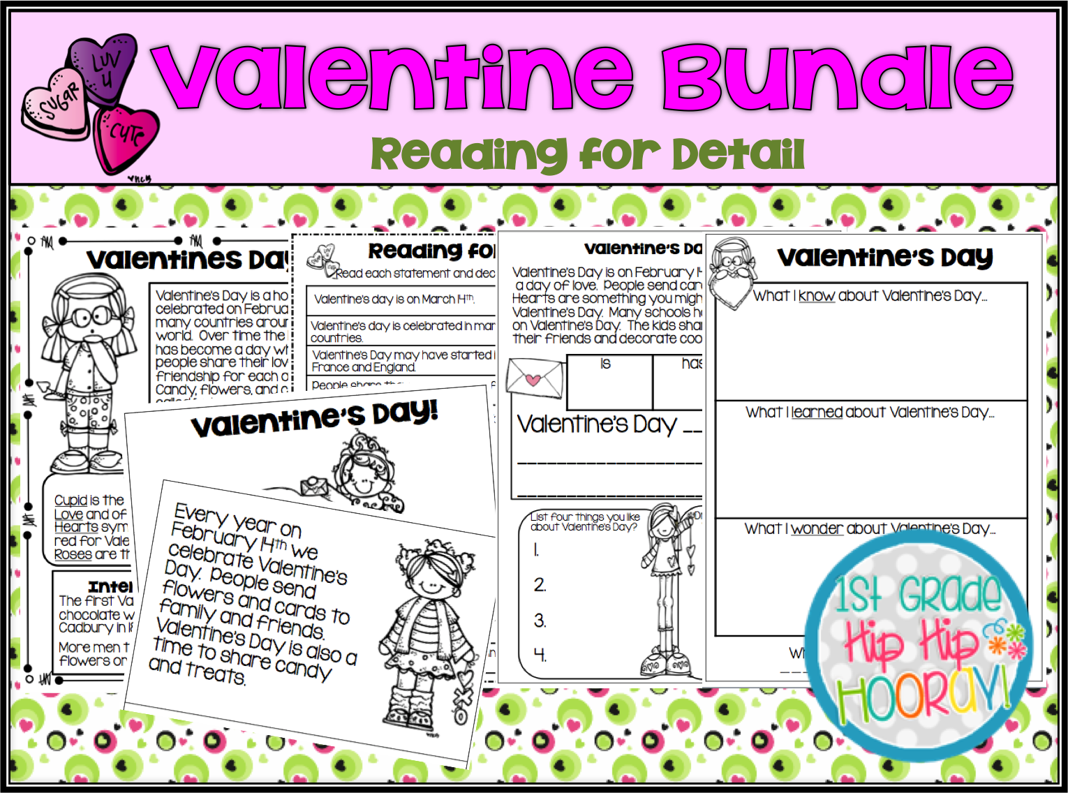 Valentines Day Quizzes for English Language Students