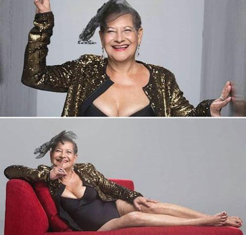 Ex-BBB Geralda divulga foto sexy