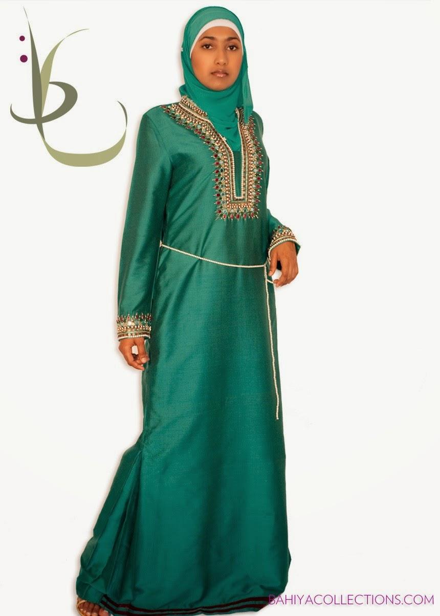 Coftan pour hijab fête