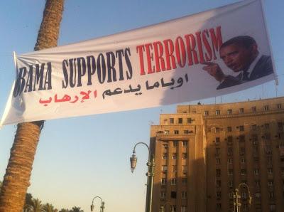 Egypt: Obama Supports Terrorism
