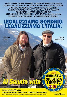 Al Senato VOTA Amnistia Giustizia Libertà
