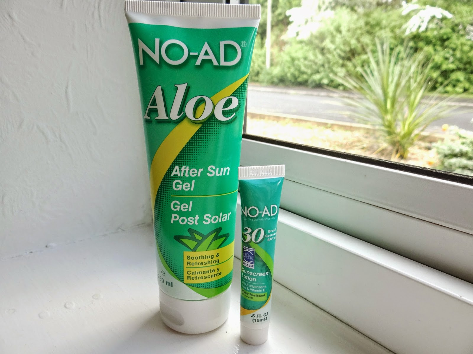 Aloe Vera, After Sun Gel, No-Ad tanning product