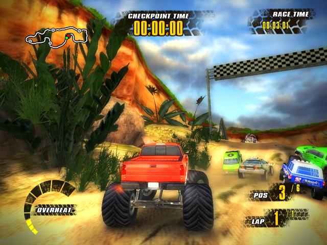 Game Offroad Racers Keren