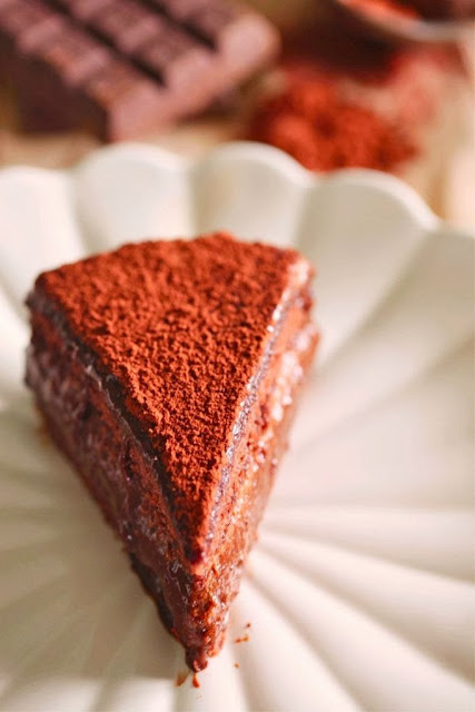 marchesa al cioccolato / marquise chocolate cake