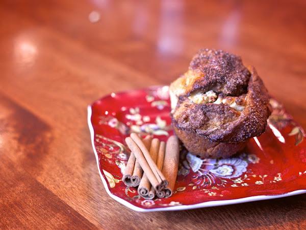 Cream Cheese Monkey Bread Muffins