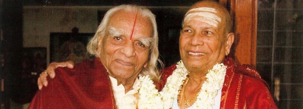 Pattabhi Jois y Iyengar