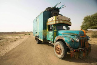 The travelling cinema in Road, Movie