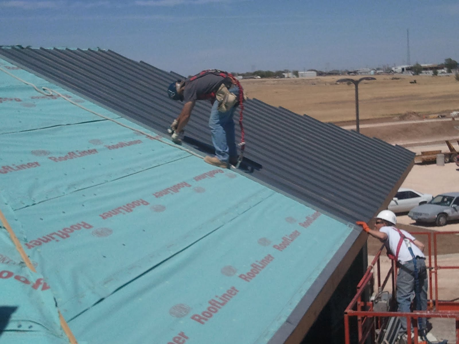 PDS Single Crimp, Standing Seam Metal Installation