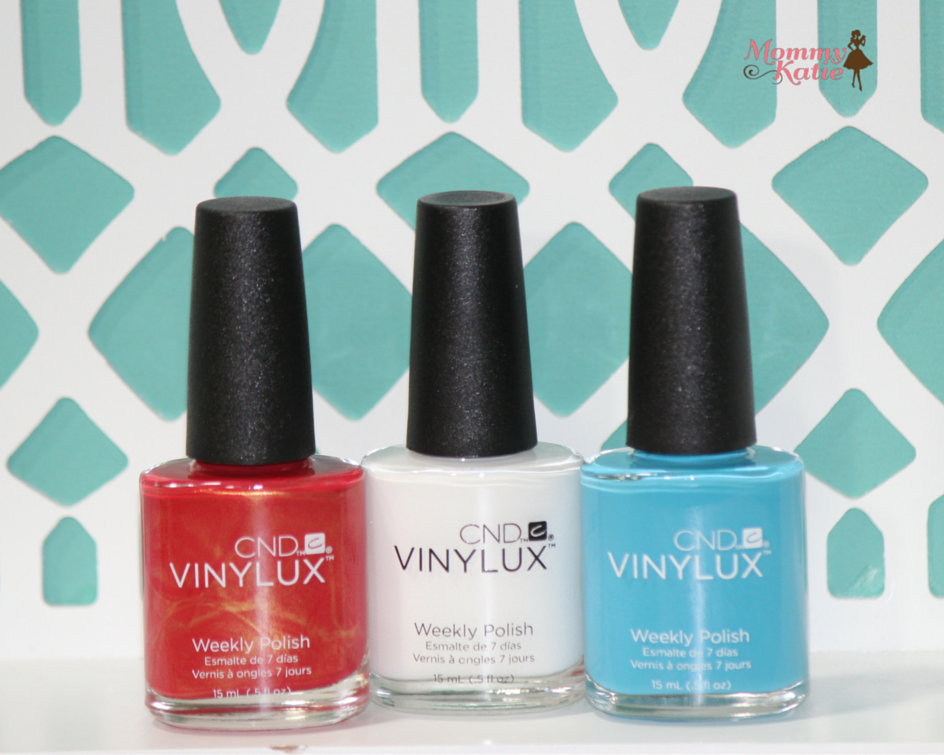 Patriotic Nails with CND® VINYLUX®