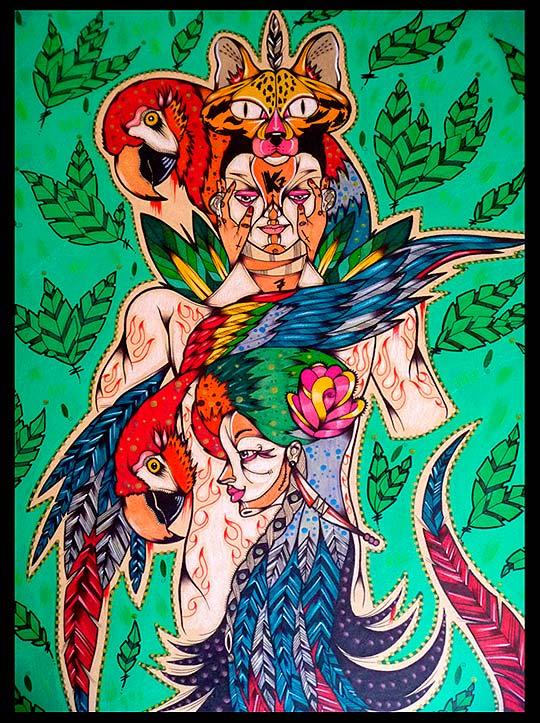 Ilustración de K-ligraphic