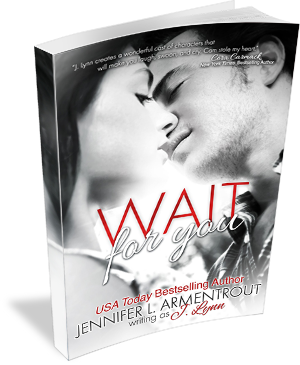 Book Cover: Wait for You  by J. Lynn