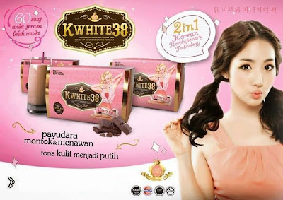 Kwhite38 Whitening Satin Plus Breast Up Harga Murah RM80
