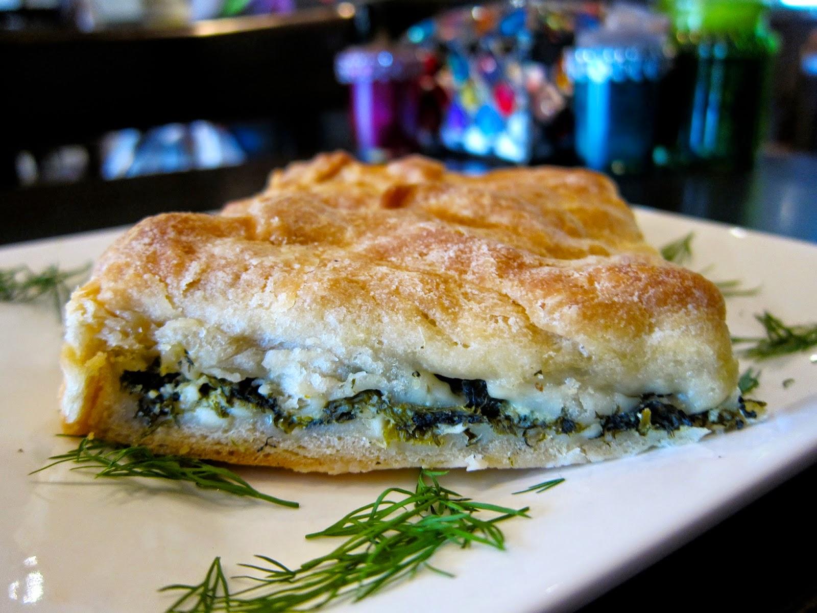 abla's patisserie prahran spinach fetta dill pastry