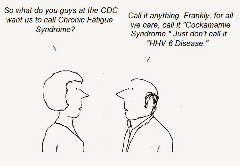 cdc, cfs, chronic fatigue syndrome, myalgic, nih, cartoon
