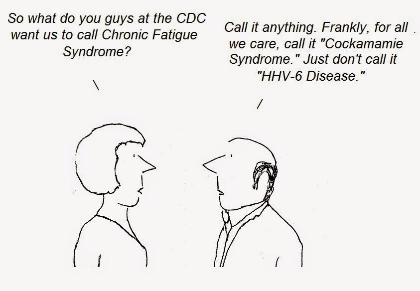 cdc, cfs, chronic fatigue syndrome, myalgic, nih, cartoon