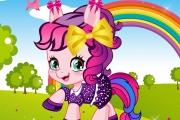 Küçük Pony Giydirme Oyunu