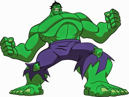 Desenho incrivel hulk