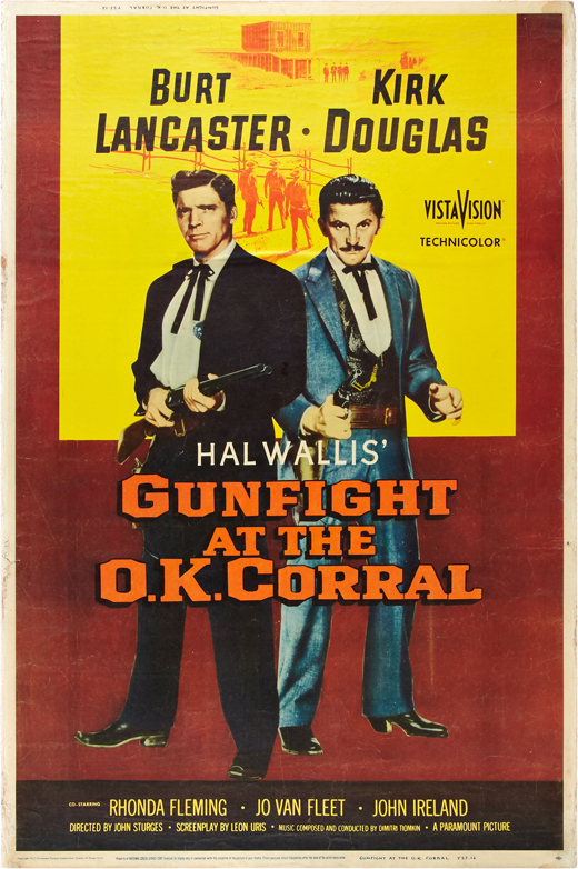 1957's Gunfight at the O.K. Dammaged Goods Summer of Sturges Gunfight at the O K Corral 520x782 Movie-index.com