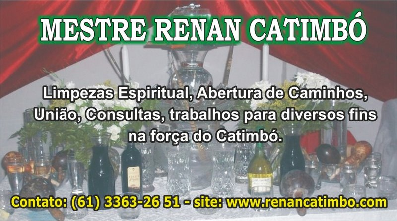 Pai Renan Catimbó