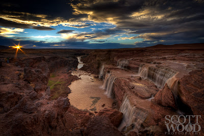 Grand Falls, from Arizona photo guide