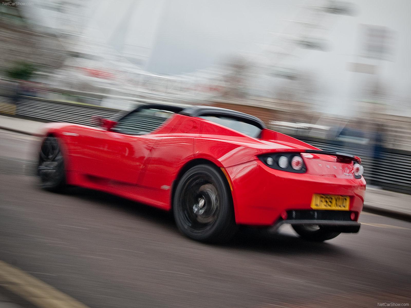 Hình ảnh xe điện Tesla Roadster UK-Version 2010 & nội ngoại thất