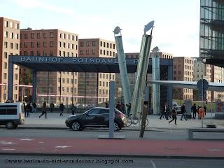 Potsdamer Platz, bahnhof