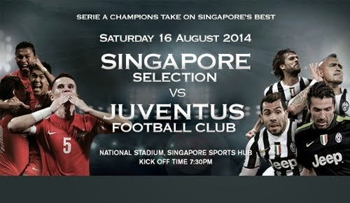 Juventus Vs Singapore Selection