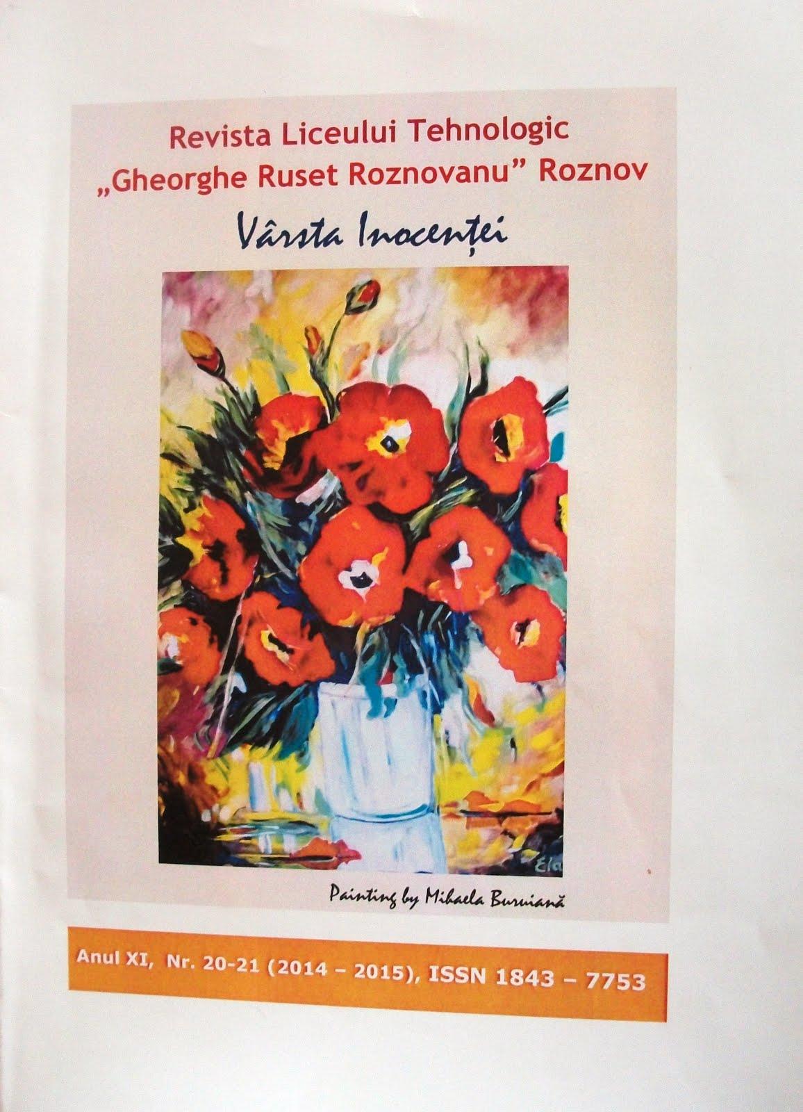 """Noi apariţii editoriale: """"Vârsta Inocenţei"""" şi """"Anuarul"""" Liceului din Roznov"""