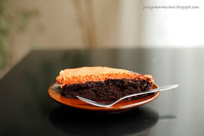 dynia, Ciasta i torty, czekoladowe, dyniowe, z kremem, philadelphia, czym zastąpić, almette, Halloween, smakołyki, desery,