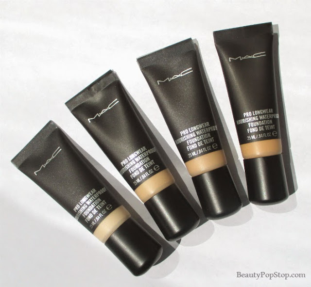 mac pro longwear nourishing waterproof foundation review
